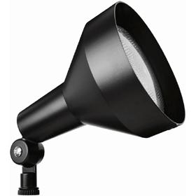 H101 Black 150W Incandescent Bell Shaped PAR Flood Light