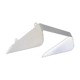 WP1C White Side Visor Cutoff Shield