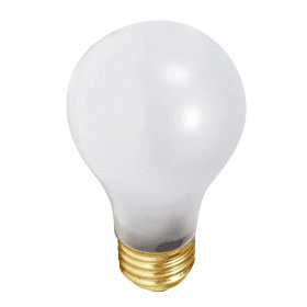 Ultra Life 100W Frosted A19 Incandescent Lamp 6/Pack
