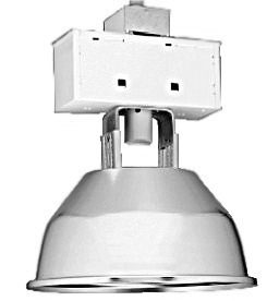 Worker 250W High Pressure Sodium 17 in. Steel Open Reflector High Bay Fixture