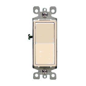 Ivory Decorative SP Rocker Switch