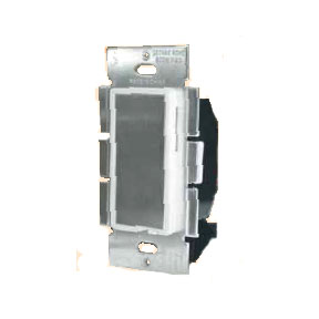 Ivory 600W Single Pole Touch Dimmer