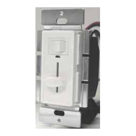 Ivory 700W 3-Way Slide Dimmer with LED, ON/OFF Switch