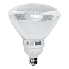 16W 2700K PAR38 Fluorescent Floodlight