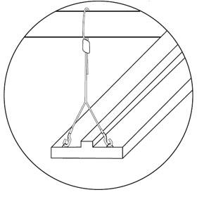 10 ft. Y- Hook Hanging Hanger Kit