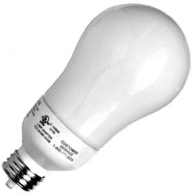 19W 2700K A-Line Compact Fluorescent Lamp