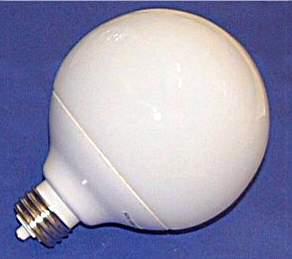 INSTABRIGHT 14W 4100K G30 Broad Tip Fluorescent Lamp