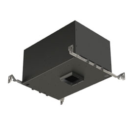 Element 3 in. 19W 2700K LED Square Flangeless Non-IC Airtight Adjustable Downlight, 40 Degree