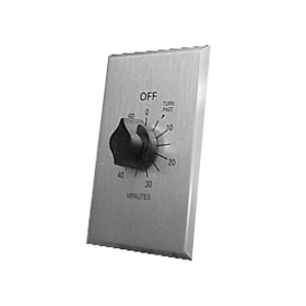 In-Wall Interval Time Switch 0-60 Minutes with Hold