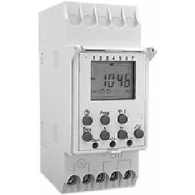 DIN200B 2 Channel Signal Pulse and Duty Cycle, 7 Day, SPDT 120V Digital Timer