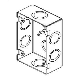 Back Box Extension 1G Metal