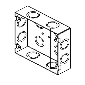 Back Box Extension 2G Metal