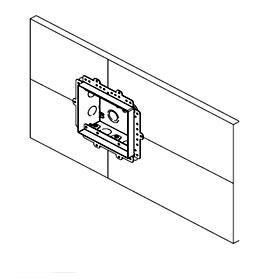 Solid Surface 1/2IN 2G Mounting Platform