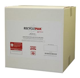 RECYCLEPAK-LARGE PROJECTOR LAMP BOX