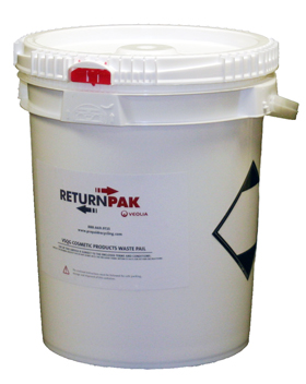 RETURNPAK-VSQG COSMETIC PRODUCTS WASTE PAIL