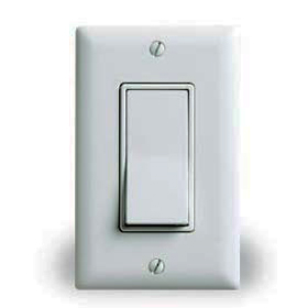 RH-253 White Decorator Single Pole Momentary Switch