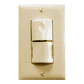 WS-250 Ivory Passive Infrared Wall Switch Sensor