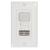 LightHawk Multi-Technology Wall Switch Sensor with IntelliDAPT Single Circuit One Button 120/277VAC 1000 Square FT Photocell White